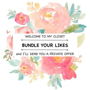 Other - Bundle your likes for a private offer!!